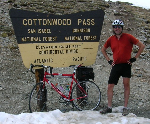 Cottonwood Pass Bicycle