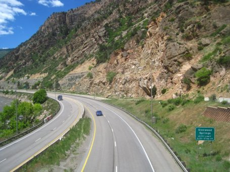 Glenwood Springs Interstate 70