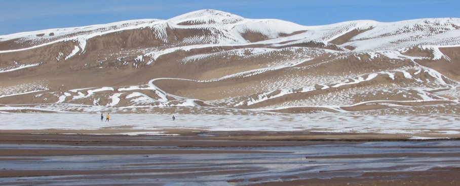 Great Sand Dunes National Park Snow