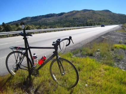 Cycling Raton Pass