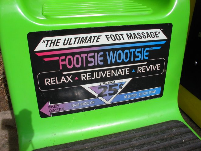 footsie wootsie machine