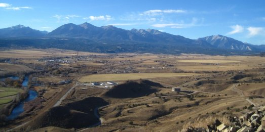 Tenderfoot Mountain in Salida