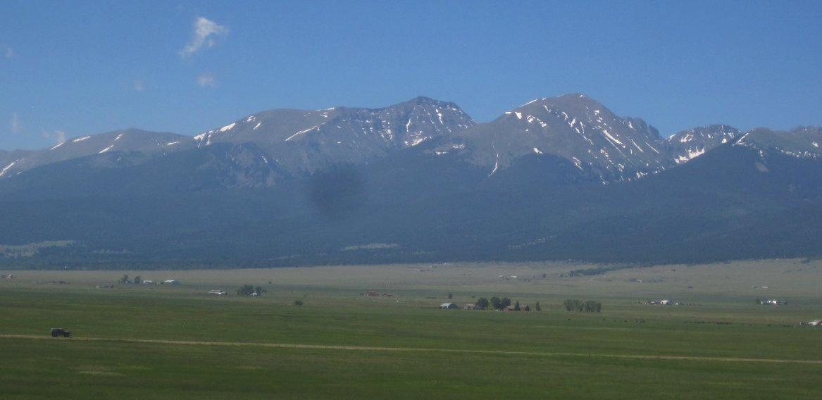 Mountains in Westcliffe, CO