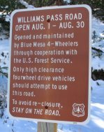 Williams Pass Road