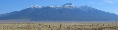 Sangre De Cristo Mountains