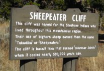 Sheepeater Cliff