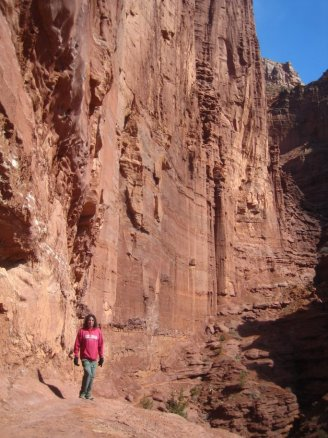 Four Corners Hikes-Arches National Park: Fisher Towers Trail